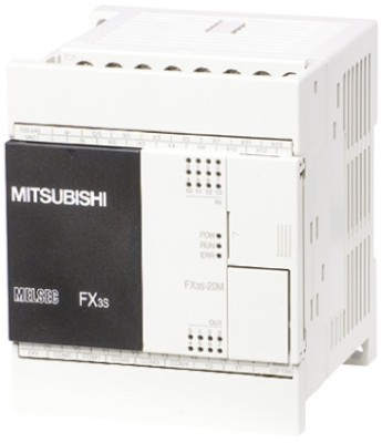 ПЛК: Центральные процессоры FX3S-20MT-ESS Mitsubishi FX3S PLC CPU, Ethernet, ModBus Networking, 4000 Steps Program Capacity, 12 Inputs, 8 Outputs