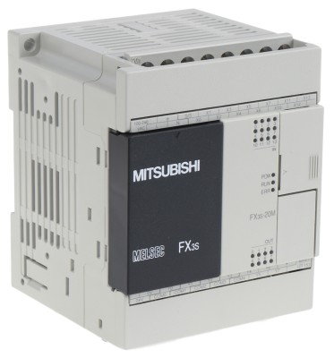 ПЛК: Центральные процессоры FX3S-20MR-ES Mitsubishi FX3S PLC CPU, Ethernet, ModBus Networking, 4000 Steps Program Capacity, 12 Inputs, 8 Outputs