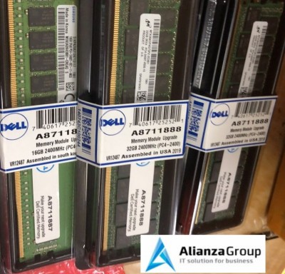 Оперативная память DELL 32GB DDR4 2400MHZ ECC REGISTERED SNPCPC7GC/32G A8711888