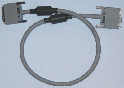 ПЛК: принадлежности QC12B Q series PLC extension cable,1.2m length