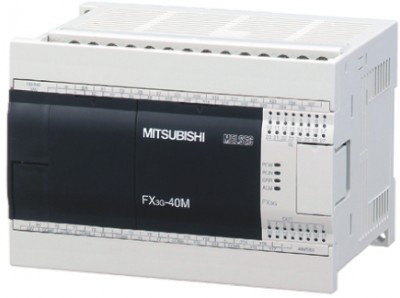 Логические модули FX3G-40MT-DSS Mitsubishi FX3G Series Logic Module, 12 → 24 V dc, 24 x Input, 16 x Output Without Display